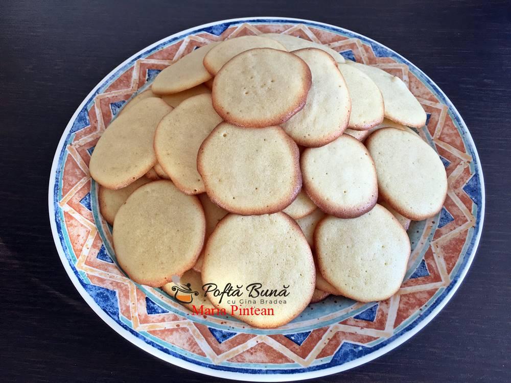 biscuiti aurii reteta simpla 1 - Biscuiti aurii, reteta rapida