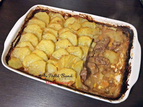 carne de vita cu cartofi la cuptor 6 500x375 - Carne de vita cu cartofi la cuptor