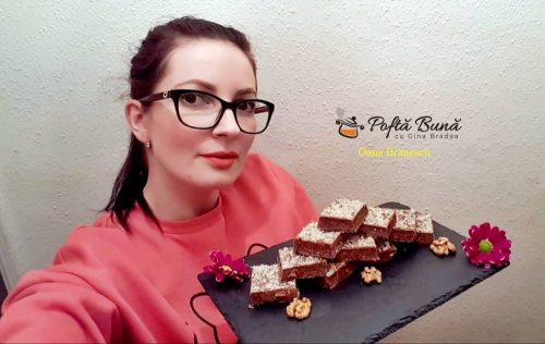 ciocolata de casa cu nuci reteta copilariei 1 500x316 - Ciocolata de casa cu nuci, batonul copilariei