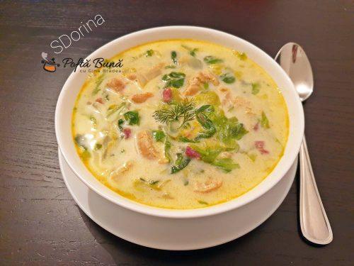 ciorba de salata verde cu omleta 2 500x375 - Ciorba de salata verde cu omleta