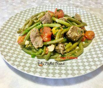 fasole verde cu carne de vita si rosii 1 350x300 - Fasole verde cu carne de vita si rosii