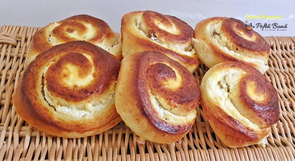 melci cu branza si stafide reteta simpla 1 - Melci cu branza dulce si stafide - reteta simpla