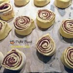 melci cu pudra de roscove 5 150x150 - Melci cu pudra de roscove din aluat dospit