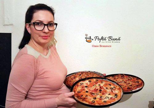 pizza de casa cu blat pufos 3 500x350 - Pizza de casa cu blat pufos