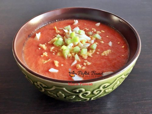 Gazpacho reteta de supa rece