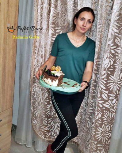 reteta tort spartak 3 398x500 - Tort Spartak cu visine - reteta de tort Marlenka