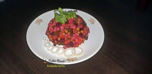 Salata de post Vinegret, reteta ruseasca