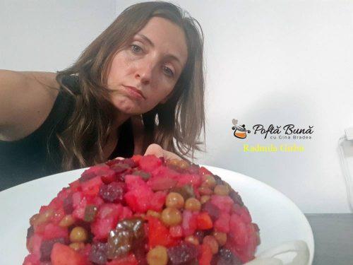 salata de post vinigret reteta ruseasca 2 500x375 - Salata de post Vinegret, reteta ruseasca