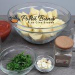 Cartofi la cuptor cu rosii si usturoi dieta rina reteta gina bradea 3 150x150 - Cartofi la cuptor cu rosii si usturoi - dieta Rina