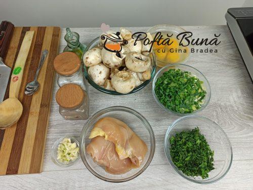 Drob de ciuperci cu piept de pui reteta traditionala gina bradea 3 500x375 - Drob de ciuperci cu piept de pui