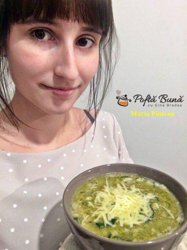 Supa de spanac cu orez