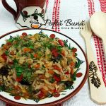 Tocana de legume - reteta de ghiveci cu orez
