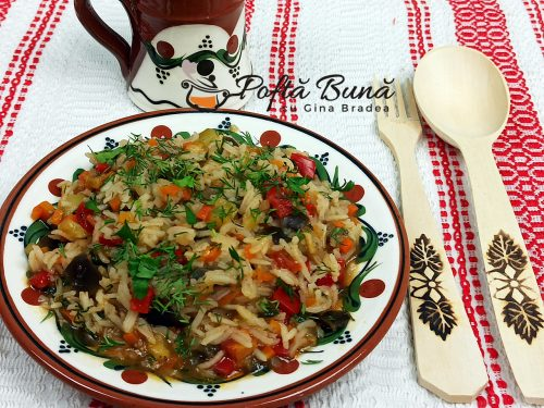 Tocana de legume ghiveci cu orez reteta gina bradea 9 500x375 - Tocana de legume reteta de ghiveci cu orez