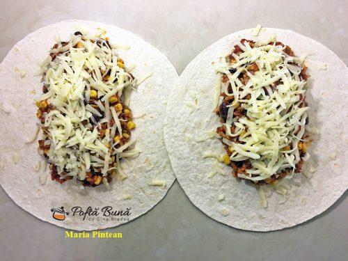 Burrito reteta mexicana