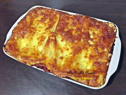 Reteta lasagna - rapida si gustoasa