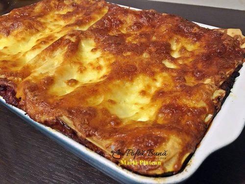 Reteta lasagna - simpla si gustoasa