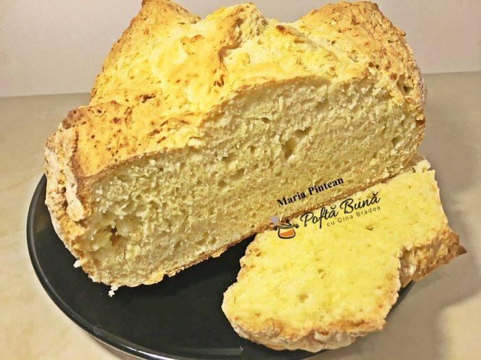 paine cu bicarbonat paine fara drojdie reteta pas cu pas 1 700x525 - Paine cu bicarbonat, reteta pas cu pas
