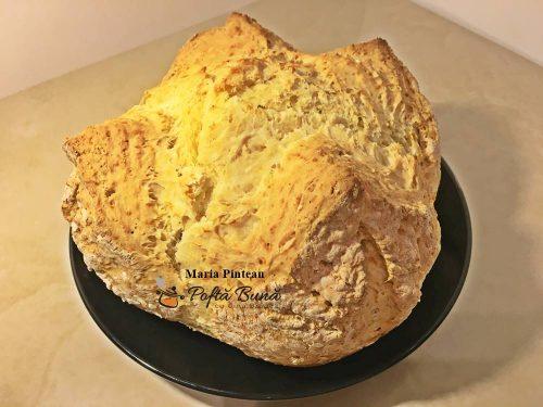 Paine cu bicarbonat, reteta de paine fara drojdie