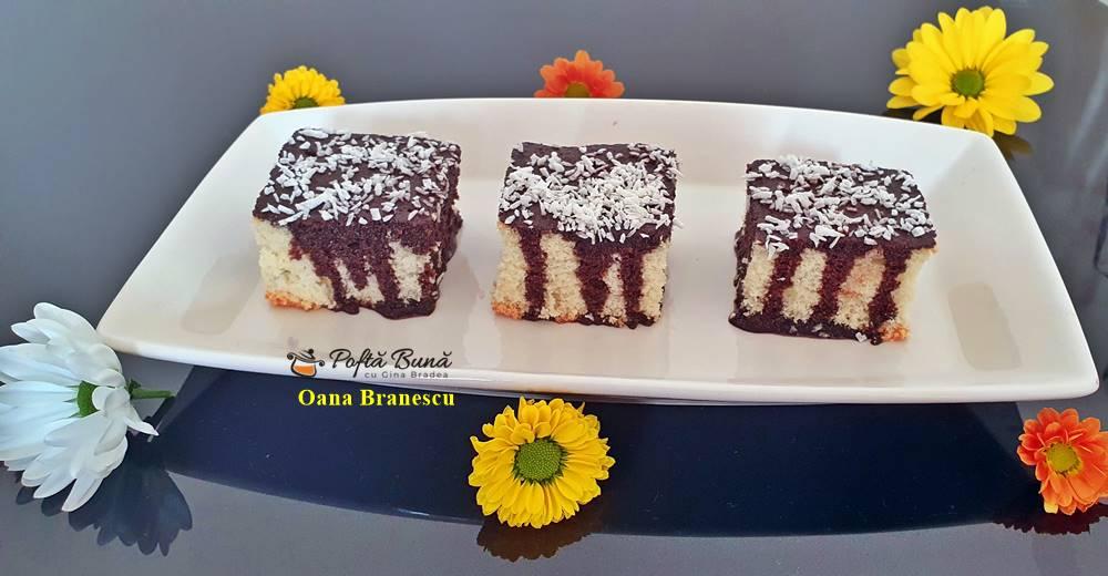 reteta prajitura pandispan glazurata 7 - Prajitura pandispan glazurata