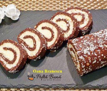 reteta rulada de biscuiti cu crema de cocos 6 350x300 - Index retete culinare (categorii)