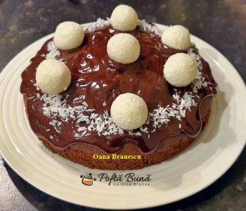 tort cu ciocolata si cocos reteta simpla 5 350x300 - Index retete culinare (categorii)