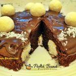 tort cu ciocolata si cocos reteta simpla 6 150x150 - Tort cu ciocolata si cocos