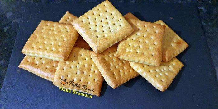 Biscuiti simpli, biscuiti fara zahar