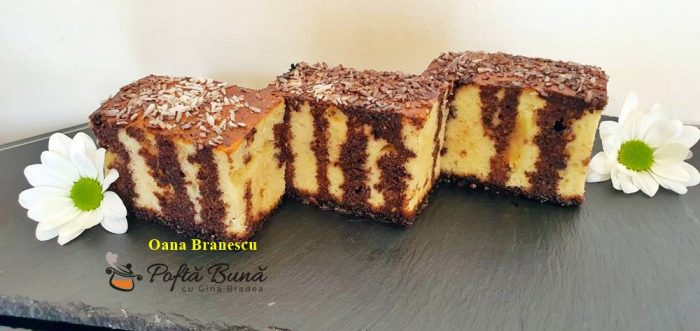 Prajitura cu cacao si iaurt
