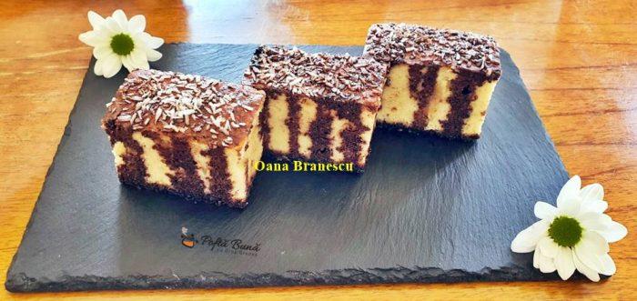 Prajitura cu iaurt si cacao