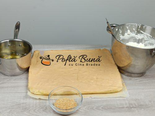 Prajitura Sinaia sau Dunareana - reteta de cofetarie