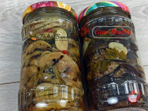 Vinete si dovlecei in ulei la borcan pentru iarna gina bradea 8 500x376 - Vinete si dovlecei in ulei la borcan pentru iarna