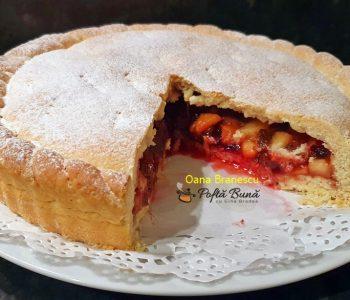 tarta cu prune mere stafide reteta simpla 4 350x300 - Index retete culinare (categorii)