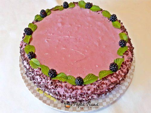reteta cheesecake cu mure 1 500x375 - Cheesecake cu mure