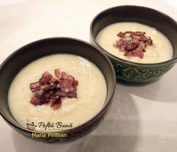 Supa crema de fasole