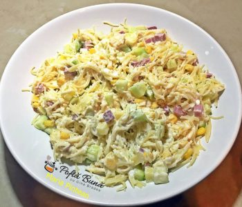 salata de paste cu legume si sunca 2 350x300 - Index retete culinare (categorii)