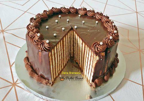 tort de biscuiti cu mascarpone reteta simpla 10 500x353 - Tort de biscuiti cu mascarpone si nutella