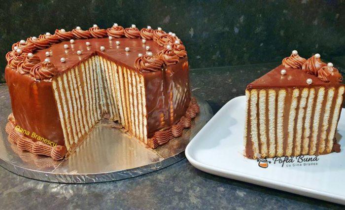tort de biscuiti cu mascarpone reteta simpla 7 700x426 - Tort de biscuiti cu mascarpone si nutella