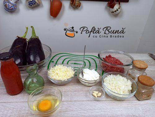 Musaca de vinete cu carne tocata reteta gina bradea 2 500x376 - Musaca de vinete cu carne tocata