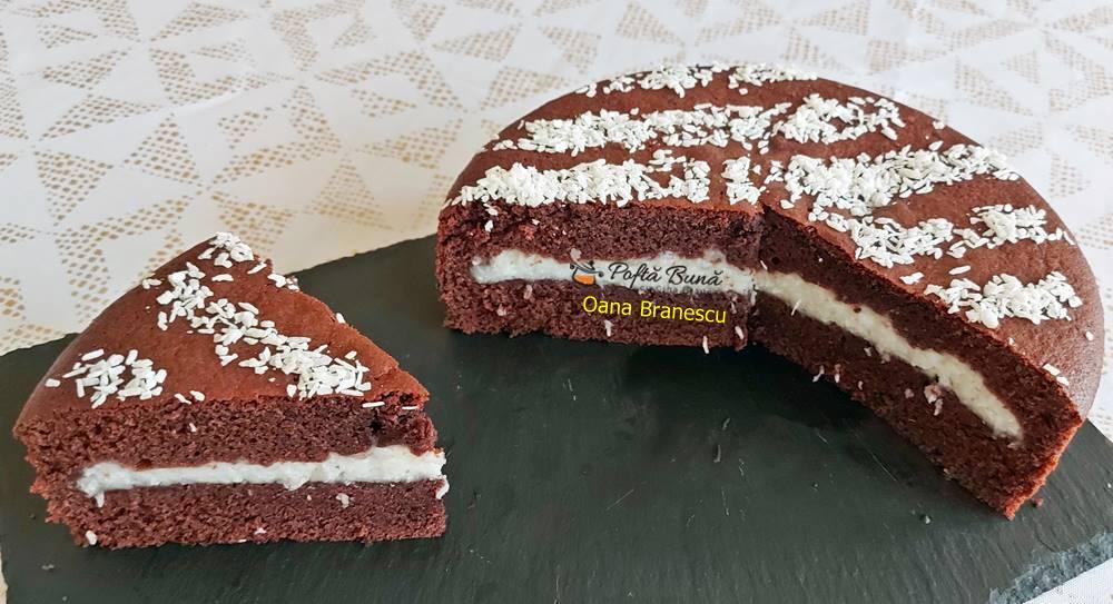 tort cu crema de cocos reteta simpla 2 - Tort cu crema de cocos