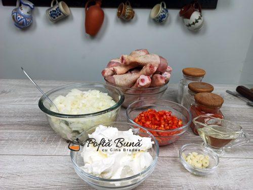 Papricas de pui reteta cu galuste si smantana gina bradea 1 500x376 - Papricas de pui reteta cu galuste si smantana