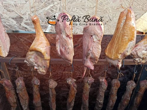Pastrama de rata afumata reteta traditionala