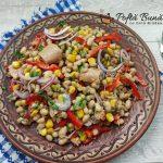 Salata de fasole boabe cu ton si porumb
