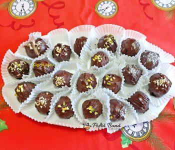 Bomboane de ciocolata cu cocos