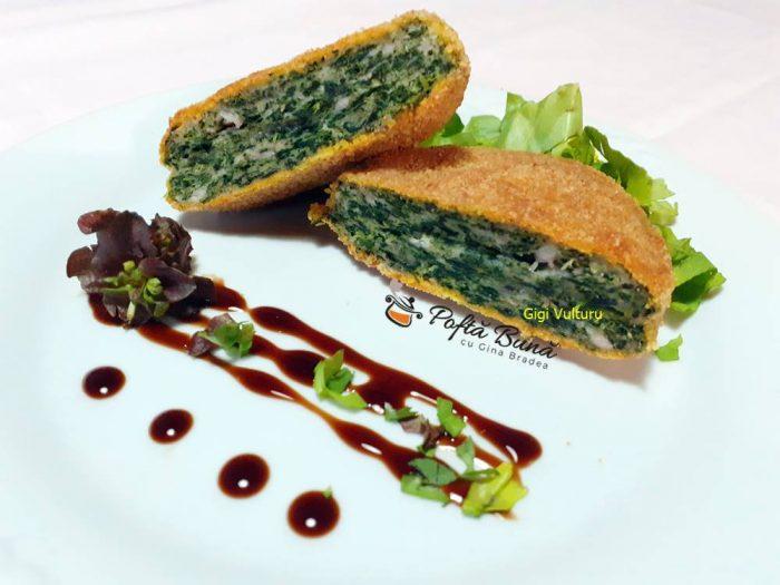 chiftelute umplute cu spanac reteta italiana 4 700x525 - Chiftelute umplute cu spanac