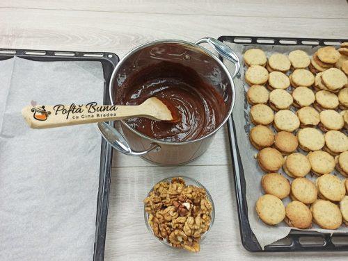 Islere - fursecuri cu nuca si ciocolata