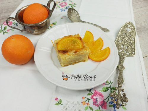 Portokalopita reteta de placinta cu iaurt si portocale