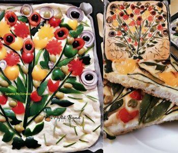 focaccia buchet de flori reteta 350x300 - Index retete culinare (categorii)