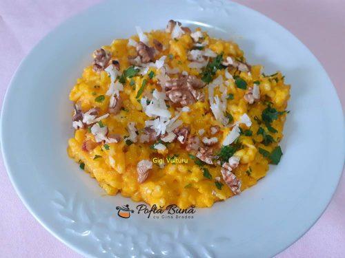 orez cu crema de morcovi si nuci 2 500x375 - Orez cu crema de morcovi si nuci