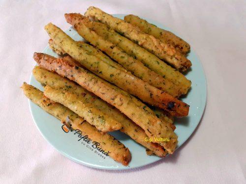 Sticksuri din cartofi