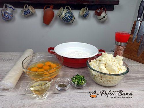Placinta cu iaurt si branza sarata reteta gina bradea 2 500x376 - Placinta cu iaurt si branza sarata - reteta simpla